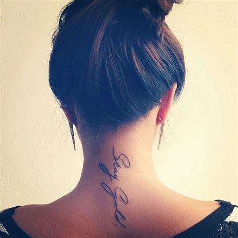 Tattoo Placement Neck | 35 splendid back of neck tattoo designs sortra