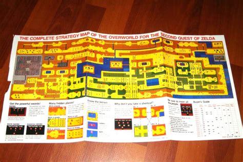 legend of zelda map with secrets legend of zelda retro item of the week