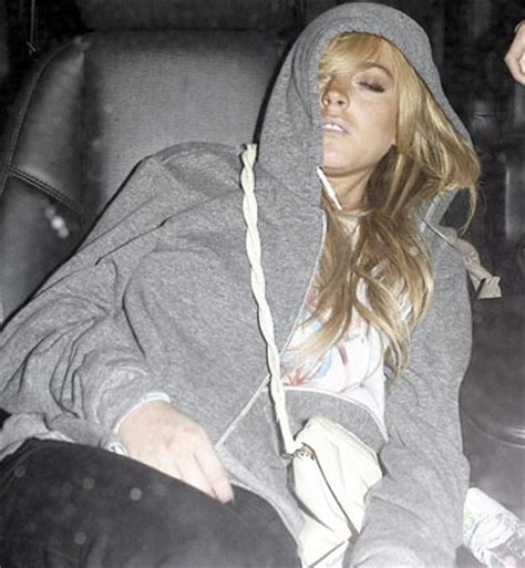 Lindsay Lohans Busted For Drugs by Chatter Busy Lindsay Lohan Dui