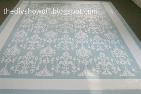 painted rug stencils painted floors quot area rug quot in center painted floors