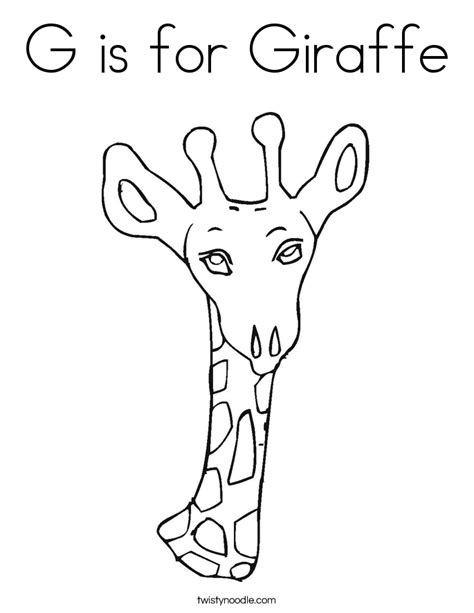 letter g giraffe coloring page g is for giraffe coloring pages