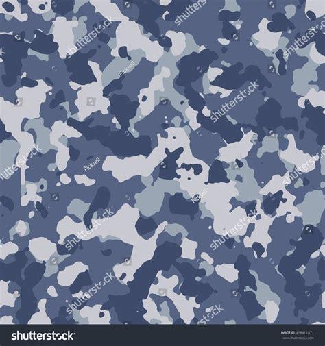 blue urban pattern seamless urban blue camo pattern vector stock vector