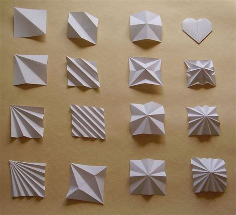 Folding Paper Designs - 25 best ideas about origami architecture on