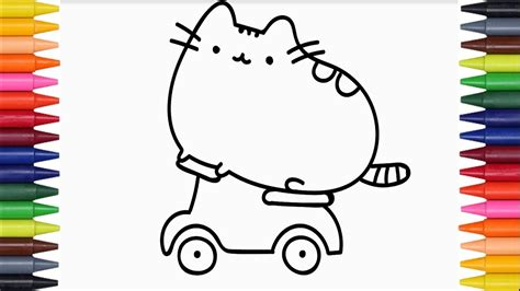 cute vire coloring pages how to draw a cute cat coloring pages colors for kids to