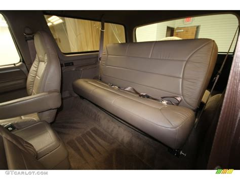 1993 Ford Bronco Interior by 1993 Ford Bronco Eddie Bauer 4x4 Rear Seat Photo 71442803
