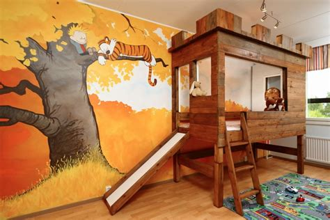 calvin hobbes nursery murals types