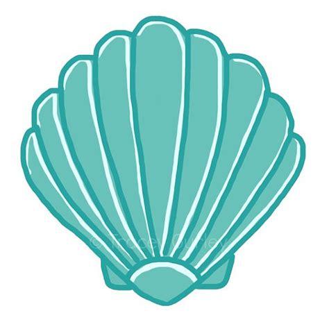 Seashell Clipart Free scallop shell clip cliparts co