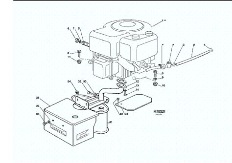 diagram of a lawn mower engine lawn mower engine parts diagram lawn free engine image
