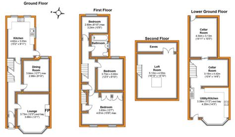 terraced house loft conversion floor plan plans for loft conversions terraced houses home design