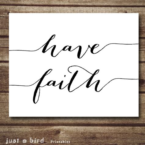 printable christian quotes printable quote have faith christian art printable