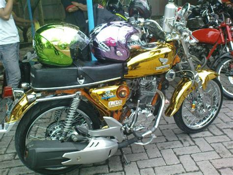 Jual Honda Cb 100 1972 Batu Malang modifikasi cb 100 125 150 classic glatik airbrush antik