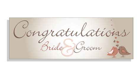 Wedding Congratulation Banners by Congratualtions Groom Wedding Banner Banner