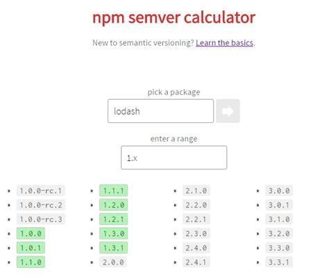 css layout npm semver and npm rushi s