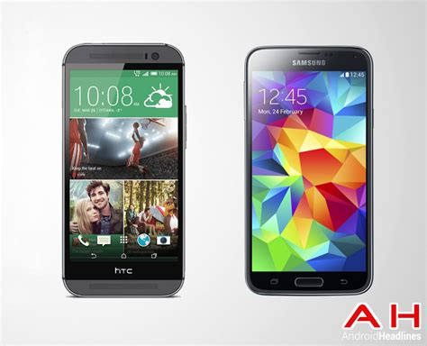 android galaxy s5 android phone comparisons samsung galaxy s5 vs htc one m8 androidheadlines