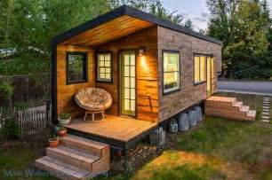 build a home for free woman builds her own diy 196 sq ft micro home for 11k