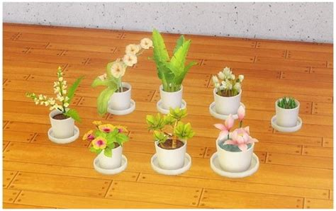 empire sims 3 3 small potted plants by lisen801 17 best images about sims on pinterest manga cd racks