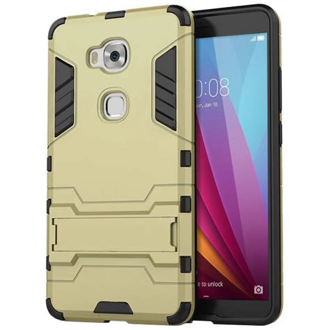 Huawei Honor Gr5 5x Carbon Armor Soft Cover Casing Keren Mewah slim armour shockproof huawei gr5 2015 honor 5x gold