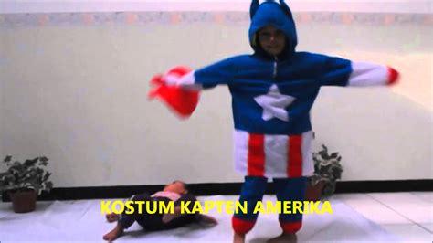 Kostum Kapten Amerika 2 kostum anak kostum kapten amerika