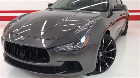 maserati q4 msrp 2016 maserati ghibli s q4 custom 92k msrp one of a