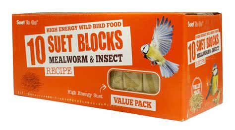 Suet To Go Blocks Wild Bird Food