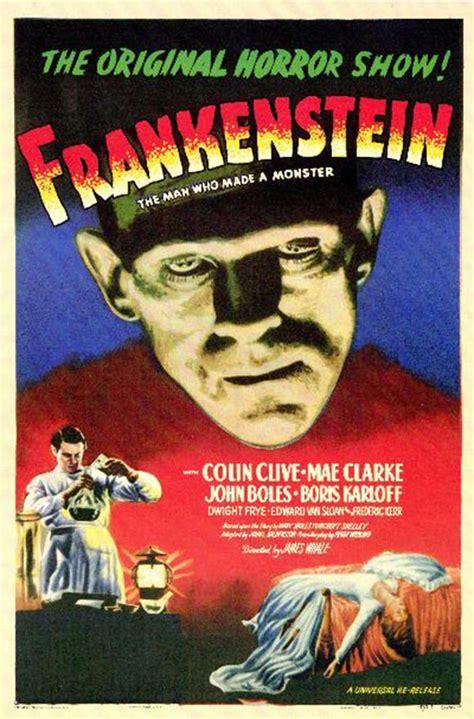 analysis of frankenstein movie classic horror movie posters frankenstein 1931 movie