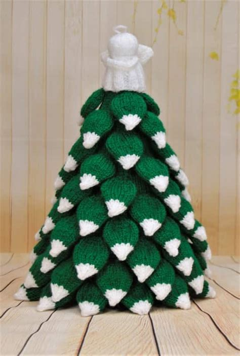 christmas pattern knitting christmas tree knitting by post