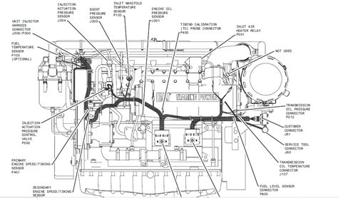 cat c15 engine diagram caterpillar sensor community