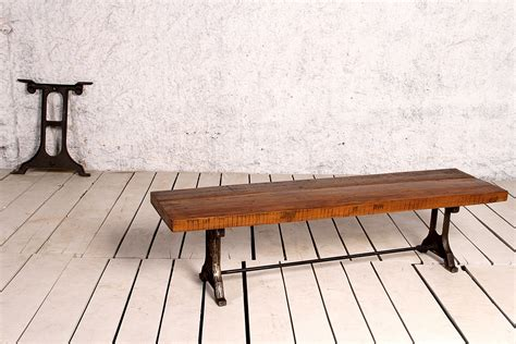 framing a bench seat industrial singer frame bench seat crank furniture