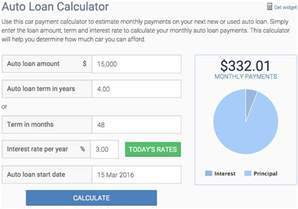 new car budget calculator how to determine the payment on a car yourmechanic
