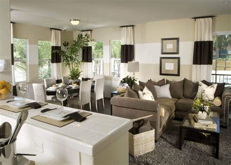 Kitchen Table In Living Room by 36 Living Rooms That Are Richly Furnished Decorated