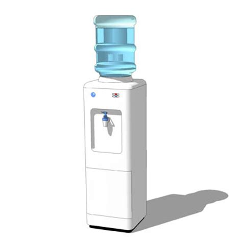 water cooler 3D Model   FormFonts 3D Models & Textures