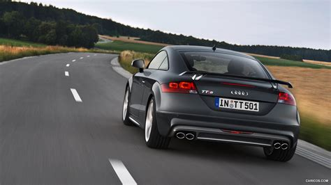 audi tts coupe competition  nimbus grey rear hd