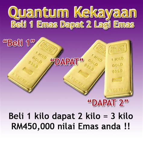 Beli 1 Dapat 2 Delvaux Tempete beli emas 100 gram dapat lagi 200 gram beli 1 kilo emas dapat lagi 2 kilo emas hadzrin