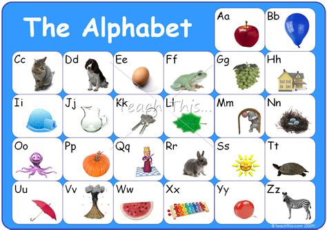 printable alphabet pictures alphabet chart printable new calendar template site