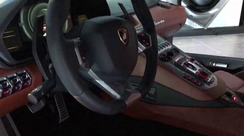 Lamborghini Aventador Inside by Inside The Lamborghini Aventador S