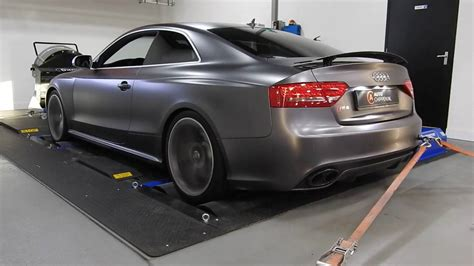 Audi S5 Chiptuning by Chiptuning Audi Rs5 With Akrapovic On Dyno Auto Chippen