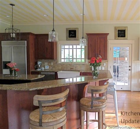 how to update kitchen cabinets without painting get this look park house with oak kitchen cabinets