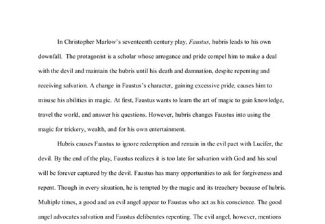 Doctor Faustus Essay by Doctor Faustus Essay Doctor Faustus Ldquo Faustus S Last Hour Rdquo Sparknotes Doctor Faustus