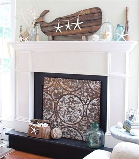 53 beautiful beach mantle decor ideas comfydwelling com
