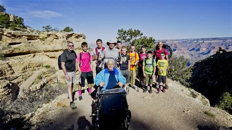 Kupluk Hiking 6 In 1 paralyzed hikes grand with help of sons grandsons today