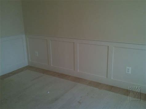 Flat Panel Wainscoting wainscoting chair rail flat wall panel wainscot
