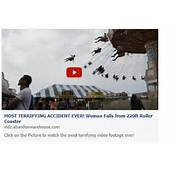 Most Terrifying Accident Ever' Roller Coaster Fall Video Is A