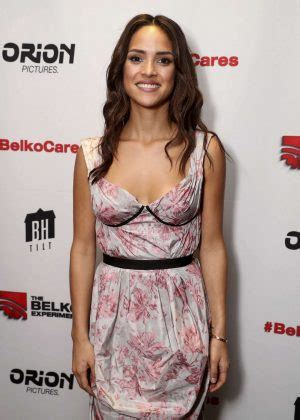 adria arjona belko experiment adria arjona the belko experiment screening in santa