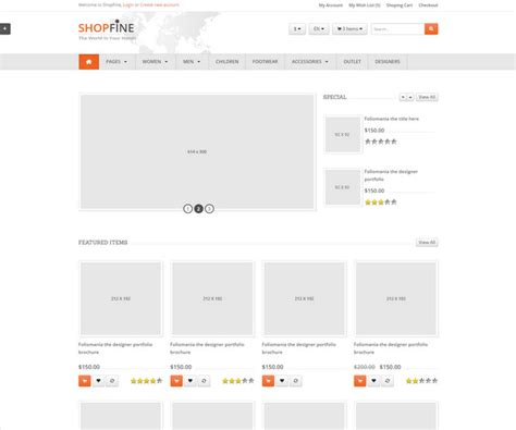 35 Fabulous Bootstrap E Commerce Website Templates Free Premium Responsive Ecommerce Template Bootstrap