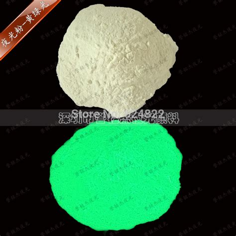 green glow in the pigment powder 100g lot x green color luminous glow in the
