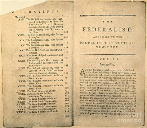 the federalist papers books the federalist papers influence on the constitution the