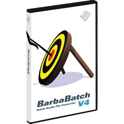 Audio File H by Audio Ease Barbabatch V4 Sound File Conversion Software