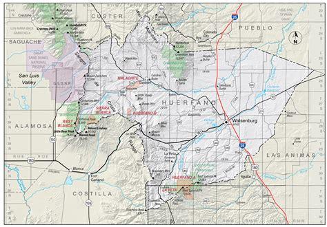 Pueblo County Divorce Records 100 Colorado Counties Map Colorado Maps Us Digital Map Library Colorado Atlas 1920 Page