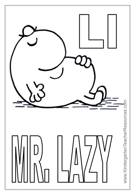 Mr L Coloring Pages by Mr Coloring Pages