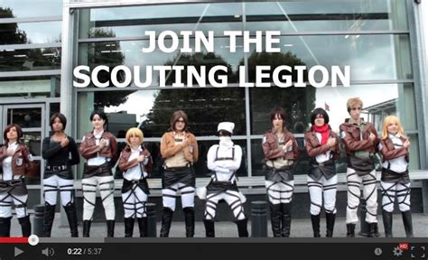 anime crack snk snk cosplay crack video by black deamon on deviantart